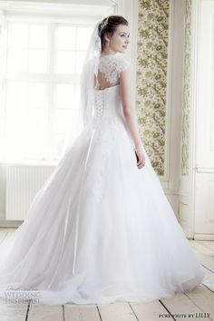 purewhite by LILLY 2014 #bridal collection: #wedding dress style 08-3225-WH #weddingdress #weddinggown