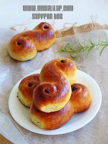 آشپزخانه کوچک من: نان زعفرانی