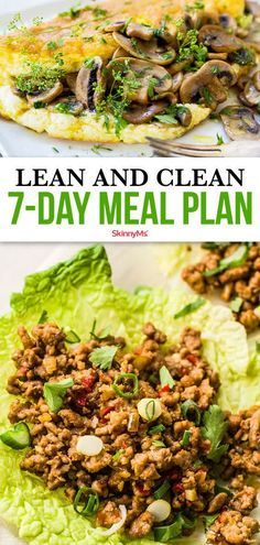 Now is the perfect time to make a change! Begin working towards a healthy lifestyle today. Not sure where to start? Try our 7-day lean and clean meal plan! 7 Day Meal Plan, Clean Eating Meal Plan, Ketogenic Diet Meal Plan, Keto Meal Plan, Healthy Meal Planning, Healthy Weekly Meal Plan, Weekly Menu, Menu Planning, Clean Eating Recipes