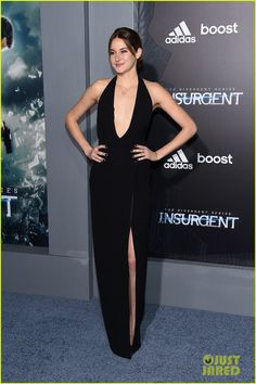 Shailene Woodley & Theo James Premiere 'Insurgent' in NYC!