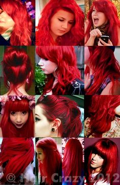 What's the best hair dye for bright red hair? | if my hair was this color, I would be happy.