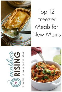 Here are the top 12 freezer meals for new moms with slow cooker freezer meals, trim healthy mama, vegetarian, whole foods, traditional recipes and much more.