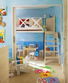 kid's bedroom/ playroom