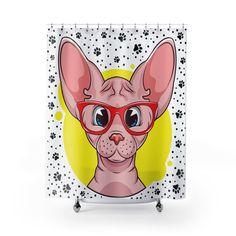 Voici ce que je viens d Chat Sphynx, Sculptures, Etsy, Art, Cat Love, Curtains, Shower, Art Background, Kunst