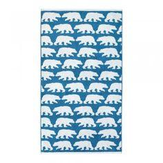 Anorak Kissing Bears Bath Sheet