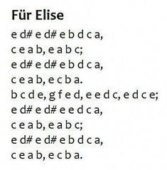 Beginner Fur Elise Sheet Music with Letters 46 Jingle Bells Easy Pre Staff Music with Letters for Piano Sheet Music Letters, Sheet Music With Letters, Piano Music Notes, Violin Music, Piano Songs For Beginners, Beginner Piano Music, Easy Piano Sheet Music, Für Elise Piano, Fur Elise Sheet Music