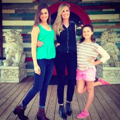 Sadie and Bella with Korie's beautiful Mom