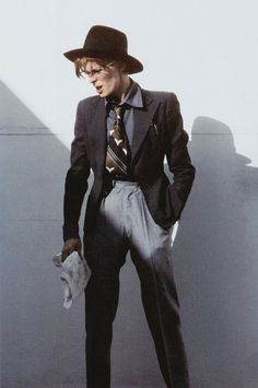 David Bowie photographed by Steve Schapiro | 1975