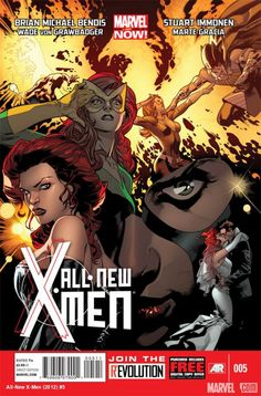 Preview All-New X-Men #5 by Brian Michael Bendis & Stuart Immonen here! Do you think the original X-Men can change Cyclops' way of thinking?    http://marvel.com/news/story/19770/sneak_peek_all-new_x-men_5