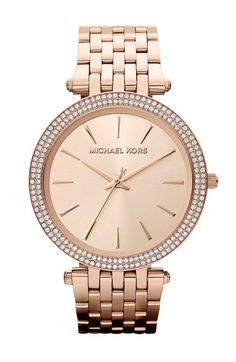 MICHAEL Michael Kors Michael Kors 'Darci' Round Bracelet Watch, 39mm available at #Nordstrom