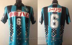 Vissel Kobe Fora camisa de futebol 1998