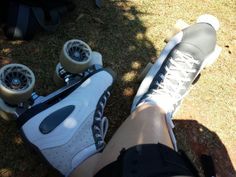 Rollerskating ... I wish I could do it more often.