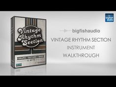Funk/Soul Vintage Rhythm Section, Bigfishaudio, http://SoundsAndGear.com: Checking out the latest vintage instrument library from Funk/Soul Productions called Vintage Rhythm Section. It covers vintage soul...