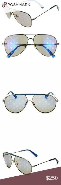 MCM Sunglasses Brand new MCM holographic aviators. Made in Italy. Lense width 62mm  bridge width 13mm  Arm lenth 145mm  Includes Hardcastle and cleaning cloth MCM Accessories