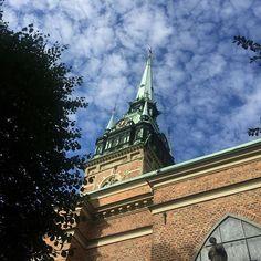 German Church in Gamla Stan. Spire pointing to the sky. #nofilter #gamlastan #church #spire #old town #oldworldcharm #architecturephotography #sweden #neverstopexploring (scheduled via http://www.tailwindapp.com?utm_source=pinterest&utm_medium=twpin&utm_content=post118343153&utm_campaign=scheduler_attribution)