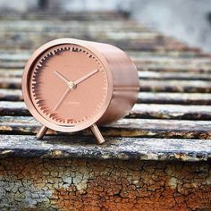 LEFF amsterdam & Piet Hein Eek | copper tube clock