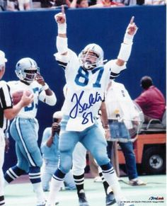 Jay Saldi autographed 8x10 Dallas Cowboys Free Shipping
