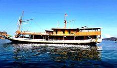 Kapal Kebin Delux Komodo, Sailing Ships, Boat, Dinghy, Boats, Tall Ships, Ship