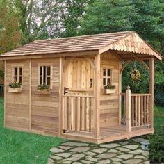 Santa Rosa 8 x 12 ft. Garden Shed traditional sheds