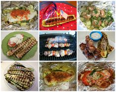 Eggface Recipes: BBQ Quick Meals Foil Packet Dinners and More