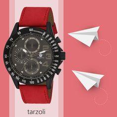 Hakiki deri kordon kullanılarak üretilmiş şık bir kol saati 👌 Hemen Tıkla: https://goo.gl/zycpFF #tarzoli #saat  #kampanya #indirim  #vegans #watch #kırmızı