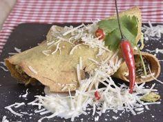 Receta | Tacos dorados de espinacas con requesón - canalcocina.es