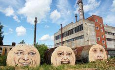 The Faces by Nikita Nomerz
