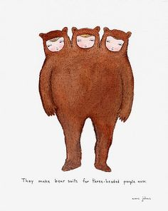 Illustration by Marc Johns So funny.. what is this?? xD