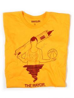 The Mayor - Raygun Iowa State Cyclones, Guys, T Shirt, Places, Shop, Women, Products, Supreme T Shirt, Tee Shirt