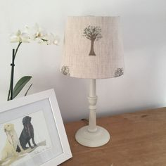 Olive Trees Tapered Lampshade, £40.00