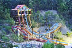 Caribbean Bay Water Park's Slide 'Aqua Loop'