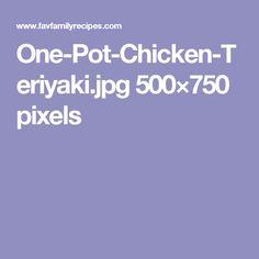 One-Pot-Chicken-Teriyaki.jpg 500×750 pixels
