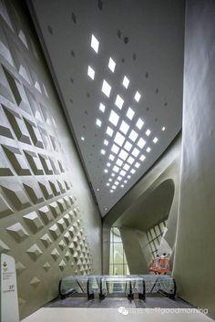 周末分享|南京的奇葩 // Zaha Hadid, Nanjing Youth // Olympic Centre exterior, China - 2014