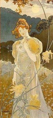 Autumn 1890, by Alejandro (Alexandre) De Riquer.