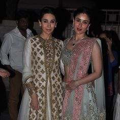 Soha Ali khan and Kunal Khemu's wedding - Kareena and Karishma Kapoor