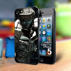 Real Steel Atom Iphone 5 case | TheYudiCase - Accessories on ArtFire