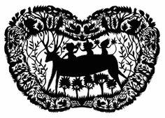 Elsa Mora. Children and Deer