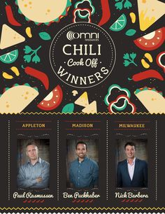 Our #FridayFunday features the winners of our annual chili cook off! #WeAreOmni