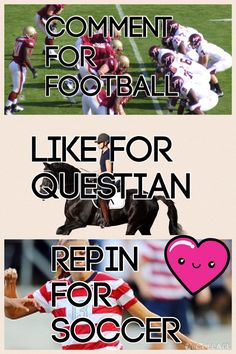 ❤️⚽. Confusing for me as I am British but I get that football is American football and soccer is football