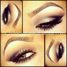 So fierce!! I need someone to do this for me every morning :D
