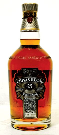 Chivas Regal 25yr old Scotch!  :::mouth watering:::  ;)