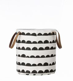 Ferm LIVING - basket. Use this graphic basket for anything you like – toys, clothes, shoes…