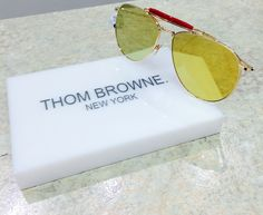 One of our absolute favorite new #ThomBrowne #shades. #CharlotteJonesOpticians