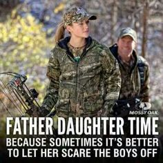 Awesome picture of a father and daughter!