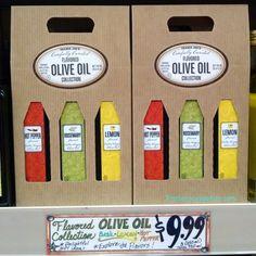 Trader Joe's Carefully Curated Flavored Olive Oil Collection 250mlx3 $9.99 トレーダージョーズ フレーバー付 オリーブオイルコレクション