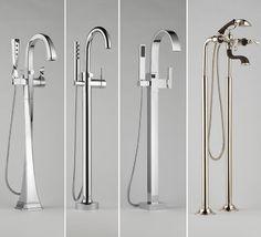 BRIZO - Tub Fillers (Freestanding) modern bathroom faucets