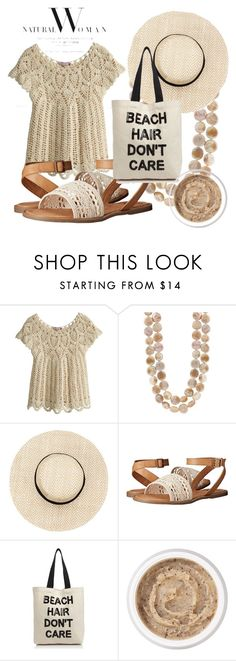 """Natural woman"" by aaron-nkelsey-anderson ❤ liked on Polyvore featuring Calypso St. Barth, Rocket Dog, Fallon & Royce and Aromatherapy Associates"