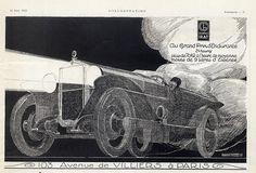 Georges Irat (Cars) 1923 René Vincent