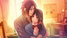 Harada Sanosuke and Chizuku Yukimura - Hakuouki Sweet School Life Professor e aluna. Ok neh? Hot Anime Boy, Anime Love, Anime Guys, Samurai, Mermaid Tears, Bishounen, School Life, Love Images, Illustrations