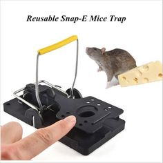 2PCS Mouse Trap Reusable Snap Control Rat Trap For Outdoor Indoor Trap Easy Set Catching Catcher Mice Mouse Killer Rat Trap